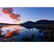 Lenticular Clouds at Sunrise Photographic Print