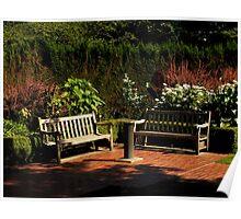 The Shakespeare Garden Poster