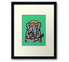 Spirit Elephant Framed Print
