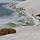 Frozen Simmit Lake Colorado by CrowningGlory