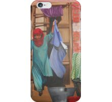 A indian village scene iPhone Case/Skin