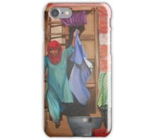 A indian village scene iPhone Case/Skin