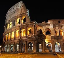Roman Coliseum by Rae Tucker