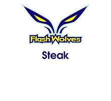 Flash Wolves - Steak by LeagueTee