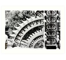 Iron Gate, Petworth Park. Art Print
