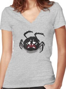 Spider, Don't Starve Women's Fitted V-Neck T-Shirt
