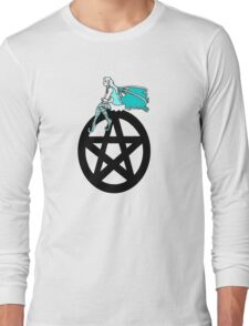 Faerie and Pentacle Long Sleeve T-Shirt