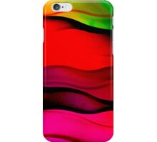 Color waves iPhone Case/Skin