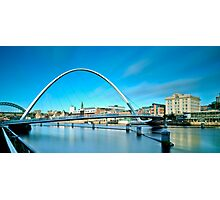 Gateshead Millennium Bridge Photographic Print