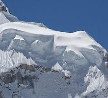 Snow on Nuptse by Jan Vinclair