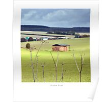 Barn at Hindon Poster