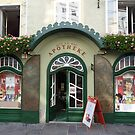 The historical pharmacy: 2 windows and 1 door by bubblehex08
