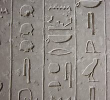 Hieroglyphics by Jan Vinclair