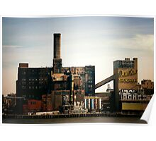 Sugar Factory - Brooklyn - New York City Poster