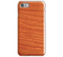 Wood board iPhone Case/Skin