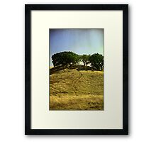 There's Always A Climb Framed Print