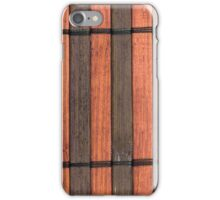 Japanese reed mat iPhone Case/Skin