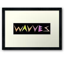Wavves Framed Print