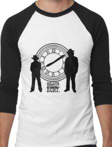 Eight o'clock, runt. Men's Baseball ¾ T-Shirt
