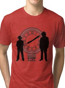 Eight o'clock, runt. Tri-blend T-Shirt