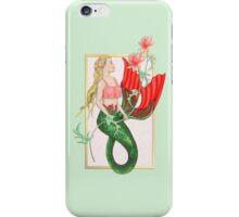 Waterlily Mermaid iPhone Case/Skin