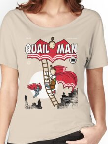 The Dark Quail Women's Relaxed Fit T-Shirt