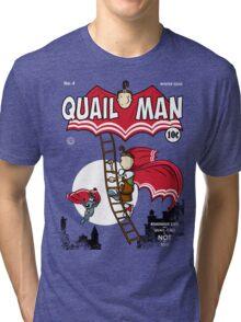 The Dark Quail Tri-blend T-Shirt