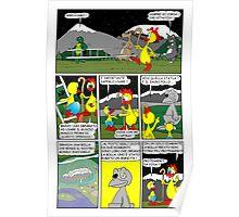"""Rick the chick  """"THE MAGIC SHELL (Il sacro pollo) parte 20"""" Poster"""