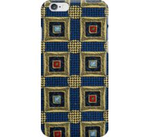 Abstract textile iPhone Case/Skin