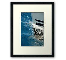 Bow Splash Framed Print