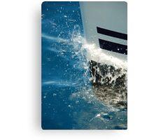 Bow Splash Canvas Print