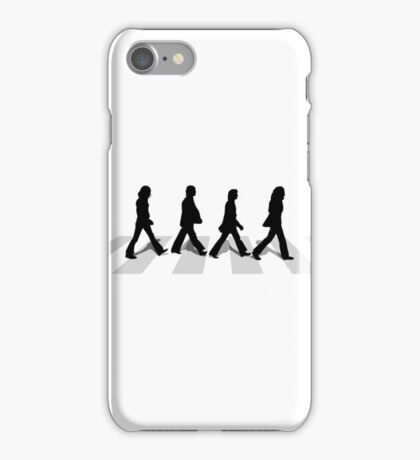 abbey road white iPhone Case/Skin