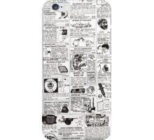 comic ad iPhone Case/Skin