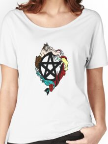 Faerie Elemental Pentacle Women's Relaxed Fit T-Shirt