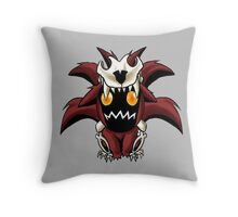 Chibi Nine Tailed Fox Throw Pillow