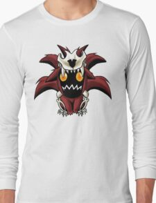 Chibi Nine Tailed Fox Long Sleeve T-Shirt