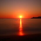 Burning Sun and smooth Sea by eugenz