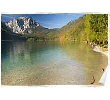 Lake Langbathsee Poster