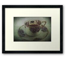 All I Do Is Drink Black Coffee Framed Print