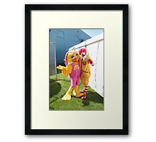 Ronald McDonald - Royal Hobart Show 2011 Framed Print