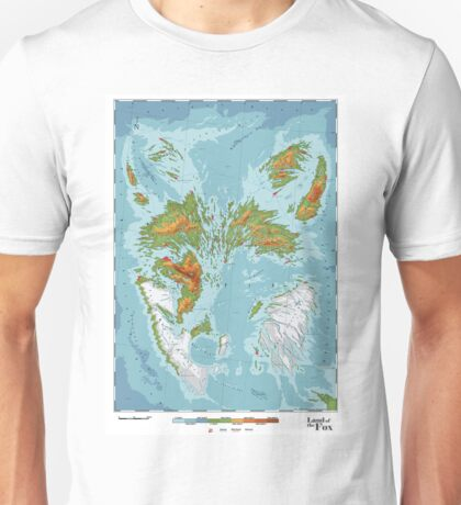 Vulpini - Land of the Fox Unisex T-Shirt