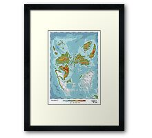 Vulpini - Land of the Fox Framed Print