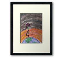 Change Climate Framed Print