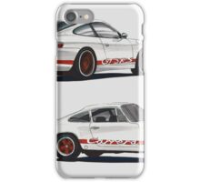 Porsche 911 Carrera redline iPhone Case/Skin