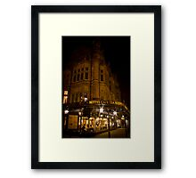 Bettys At Night Framed Print