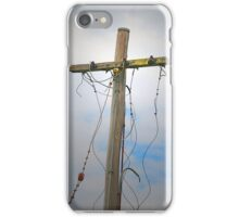 When the lines are down... iPhone Case/Skin