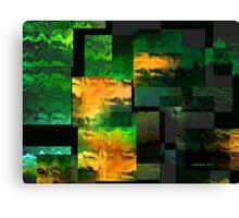 Green Miles Canvas Print