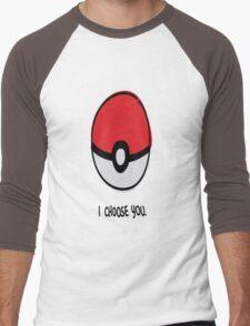 Pokéball - I Choose You Men's Baseball ¾ T-Shirt