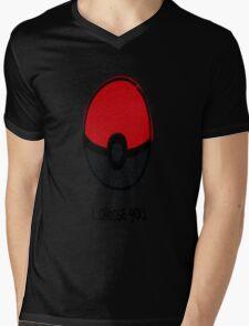 Pokéball - I Choose You Mens V-Neck T-Shirt