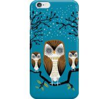 Three Lazy Owls iPhone Case/Skin